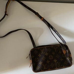 Vintage Louis Vuitton Marly Bandouliere